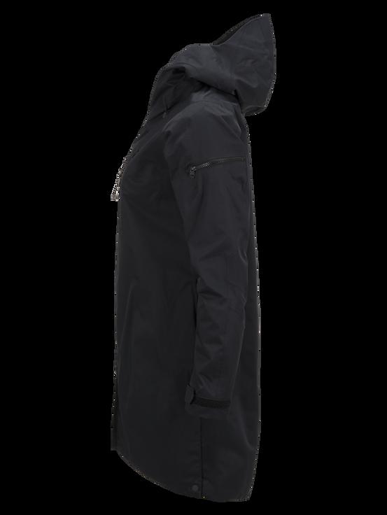 Women's Sapphire 2-Layer Shell Ski Jacket Black   Peak Performance