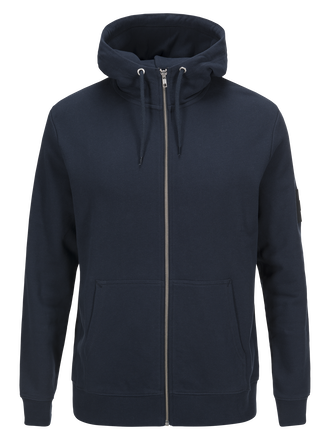 Men's Original Zipped Hoodie Salute Blue | Peak Performance