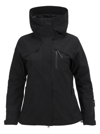 Women's Spokane Ski Jacket Black | Peak Performance