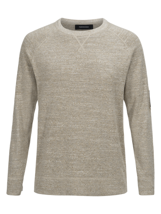 Men's Thyler Crew Neck True Beige | Peak Performance