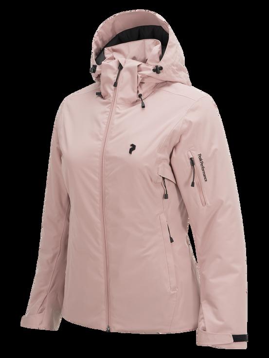 Women's Anima Ski Jacket Dusty Roses | Peak Performance