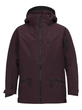 Kids Radical 3-lagige Skijacke Mahogany | Peak Performance