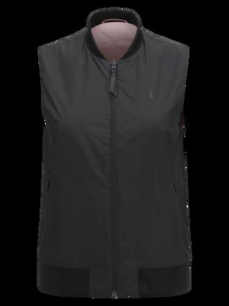 Women's Lombard Liner Vest Black | Peak Performance