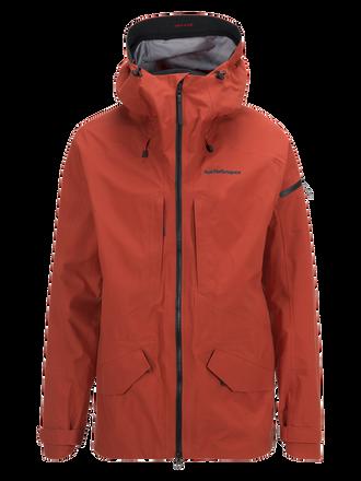 Men's Teton Ski Jacket Orange Planet | Peak Performance