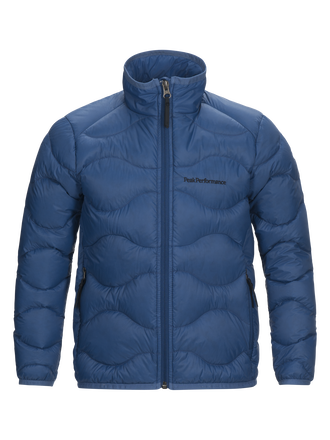Kids Helium Jacke Stream Blue | Peak Performance