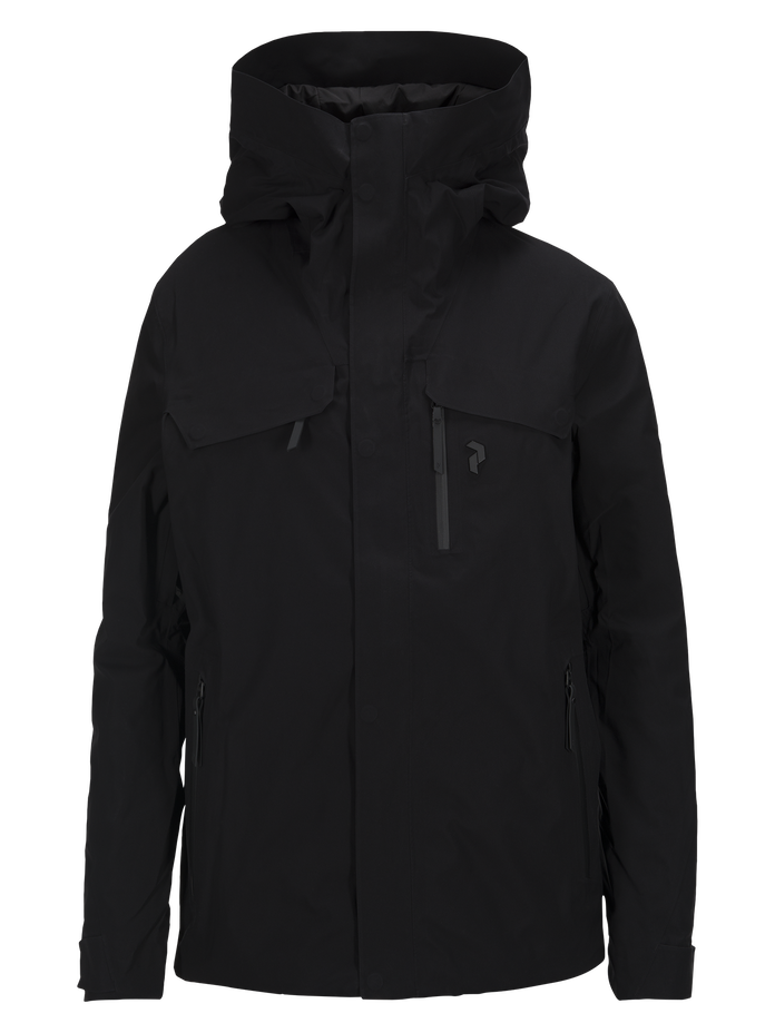 Men's Spokane Ski Jacket Black | Peak Performance