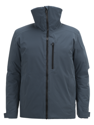 Men's Showdown Ski Jacket Blue Steel | Peak Performance