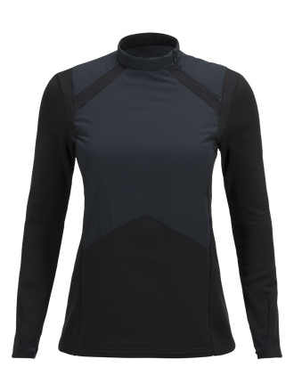 Women's Hybrid Ski Crew neck Black | Peak Performance