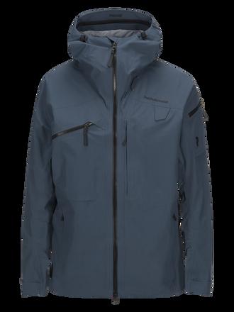Men's Alpine Ski Jacket Blue Steel | Peak Performance
