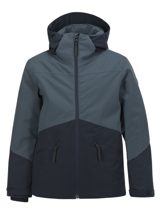 Kids Greyhawk Ski Jacket Blue Steel | Peak Performance