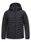 Kids Frost Daunenjacke mit Kapuze Black | Peak Performance