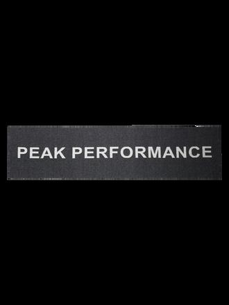 Logo Schal Black | Peak Performance