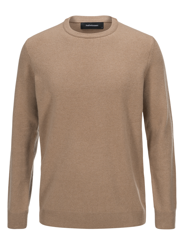 Herren York Rundhalsausschnitt True Beige | Peak Performance