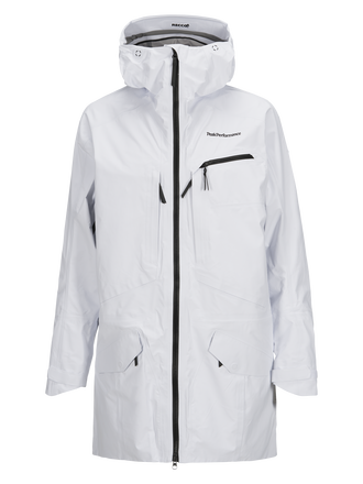 Men's Volcan Ski Parka White | Peak Performance