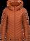 Women's Frost Down Hooded Jacket Blaze Orange | Peak Performance