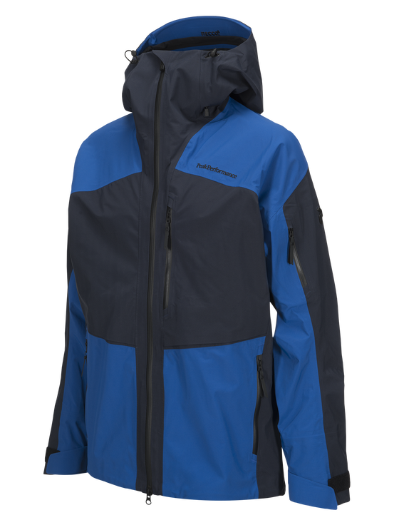 Men's Gravity Ski Jacket Salute Blue | Peak Performance