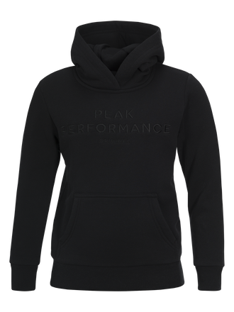 Kids Hooded Sweater Black | Peak Performance