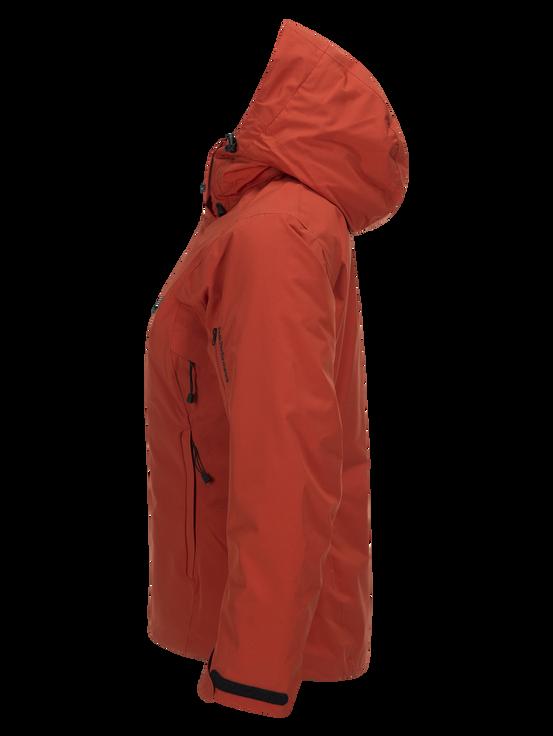 Women's Anima Ski Jacket Orange Planet | Peak Performance