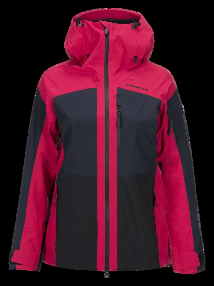 Women's Gravity Ski Jacket Pink Planet | Peak Performance